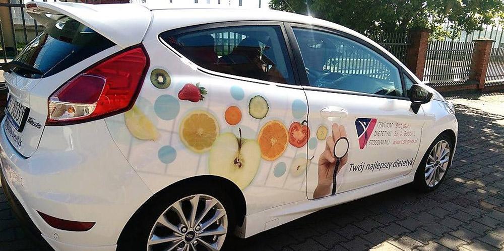 Oklejanie samochodów Białystok