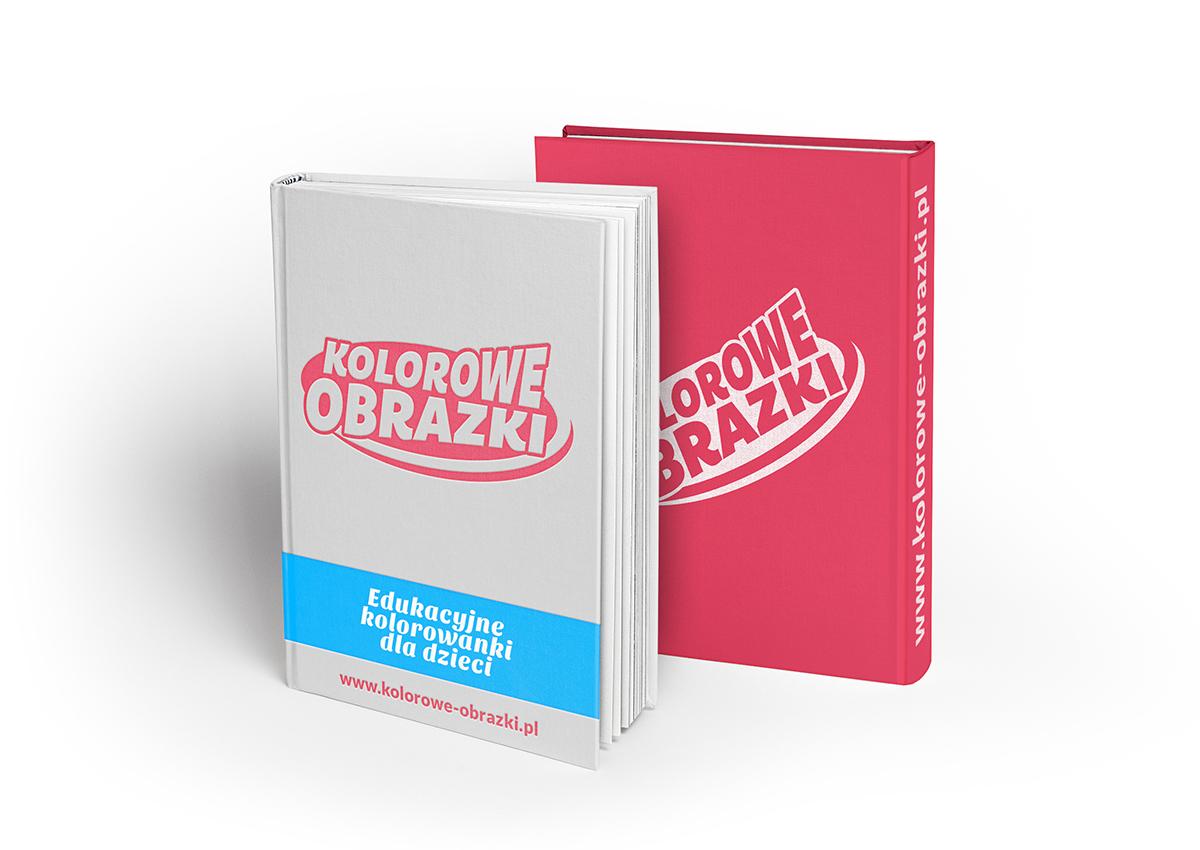 Redesign logo portalu Kolorowe-Obrazki.pl